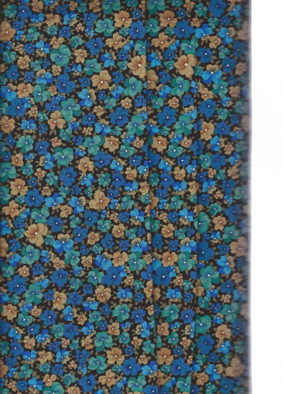 Enchanted Forest 112501 2  David Textiles 100/% CottonFabric priced  by 1//2 yard