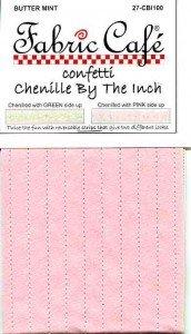 Chenille By the Inch Raspberry 06-CBI 100
