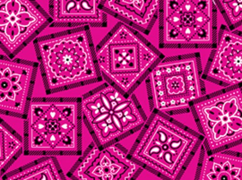 Best Bandannas 22260-P by Quilting Treasures