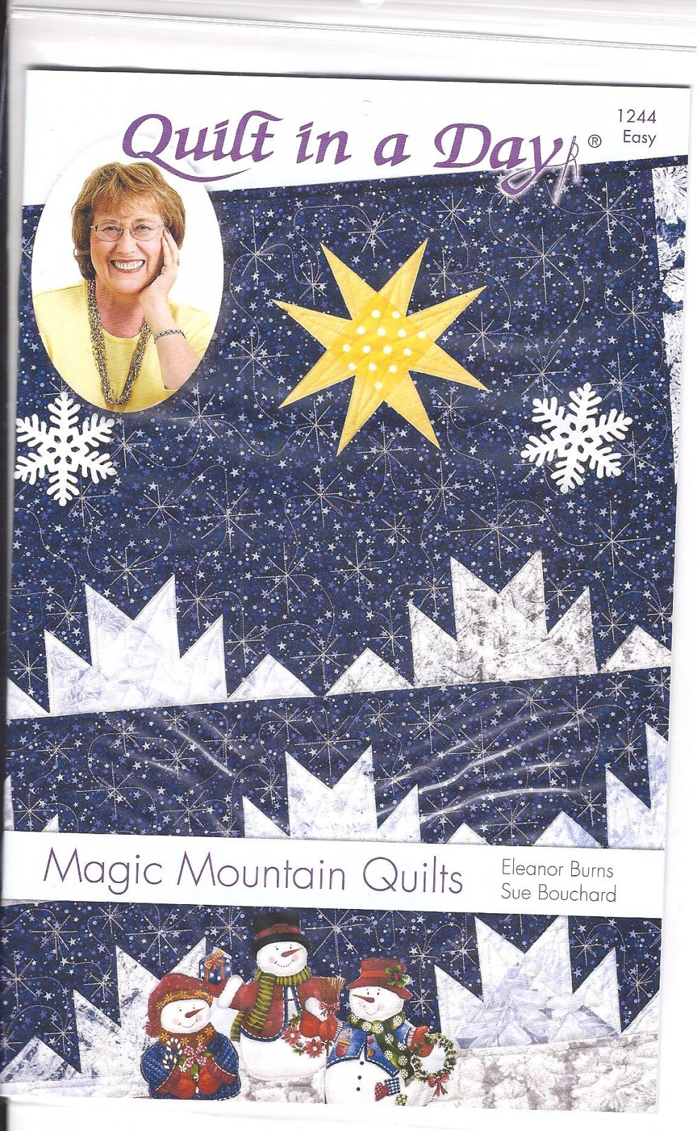 Magic Mountain Quilts Pattern by Quilt In A Day 1244 Easy