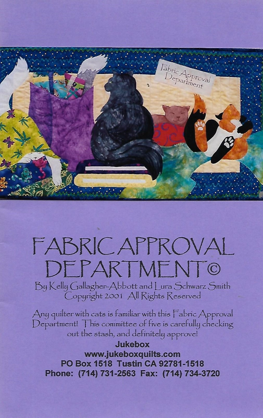 Fabric Approval Department