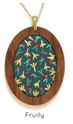 Embroidery Pendant Kits by Kiriki