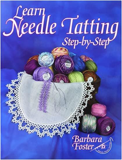 Learn Needle Tatting Book & Needles