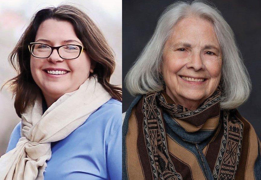 CLOSED Fiberside Chats: Linda Ligon & Anne Merrow