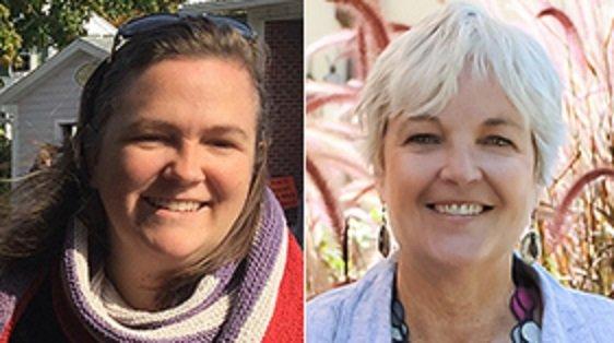 CLOSED Fiberside Chats: Jeane deCoster & Brooke Sinnes April 18th