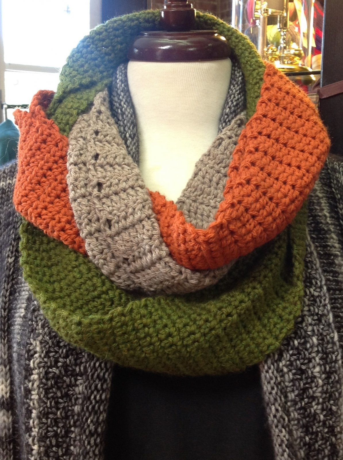 Learn to Crochet -- Braided Cowl