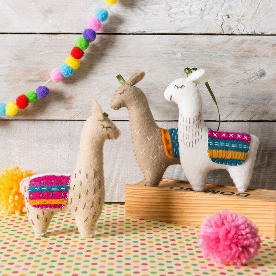 Llamas Craft Kit