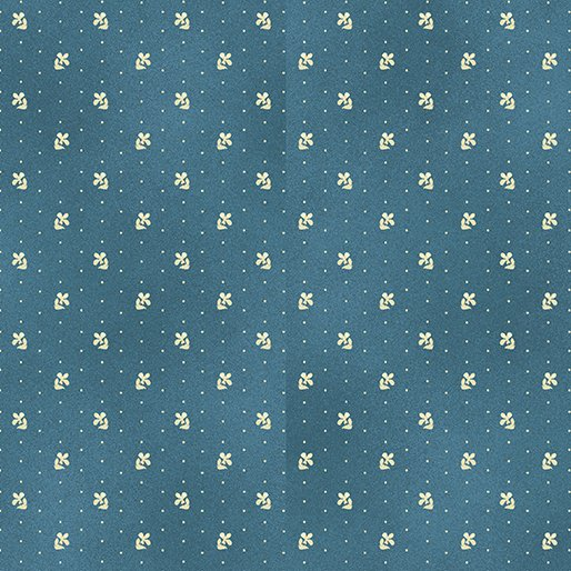 Liberty Hill Daisy Dot-Blue
