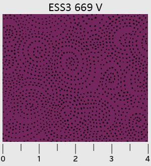 Bear Essentials 3 Swirl Dots-Violet