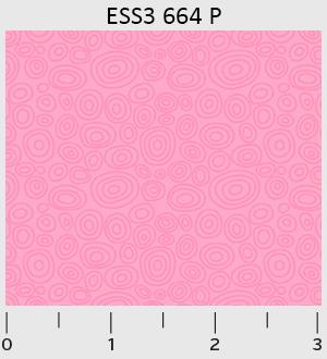 Bear Essentials 3 Ellipse Rings-Pink