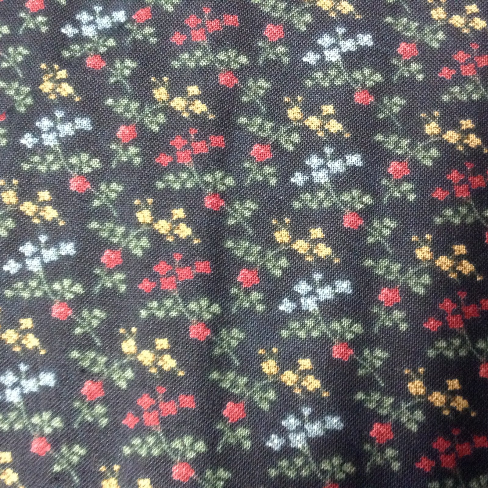 Kansas Troubles Wildflower Serenade II-Black Small Floral