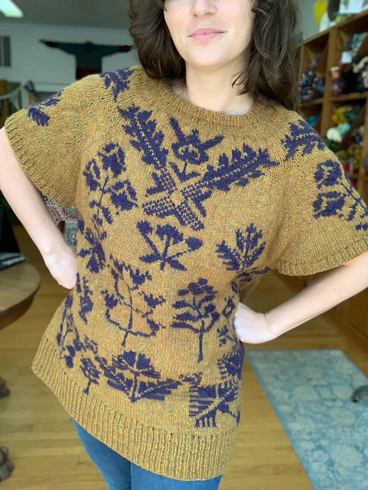 Bouquet Sweater Kit