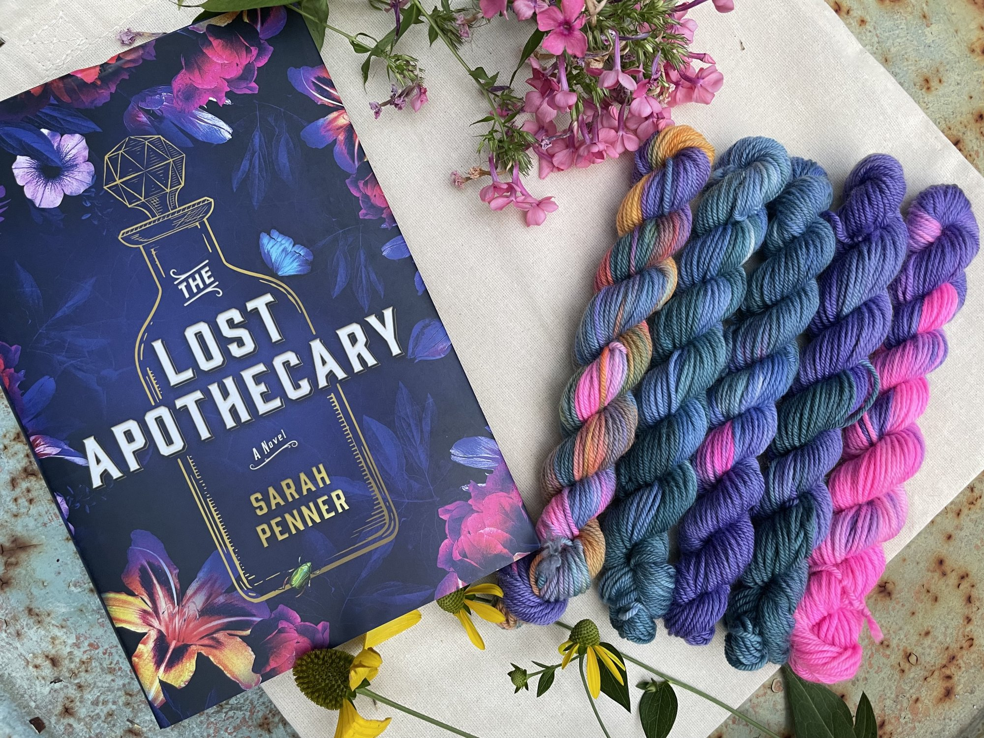 The Lost Apothecary Mini Skeins