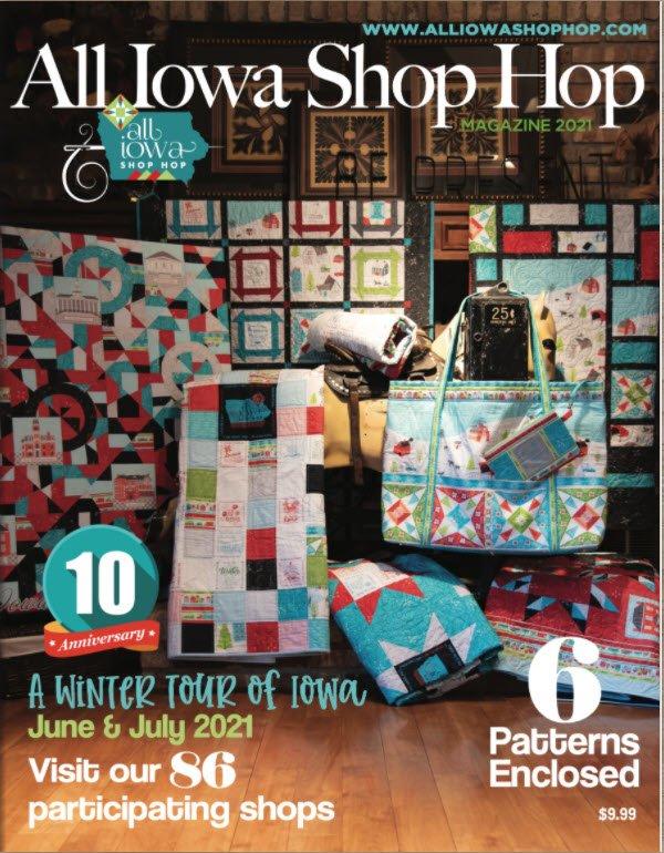 All Iowa Shop Hop Book 2021