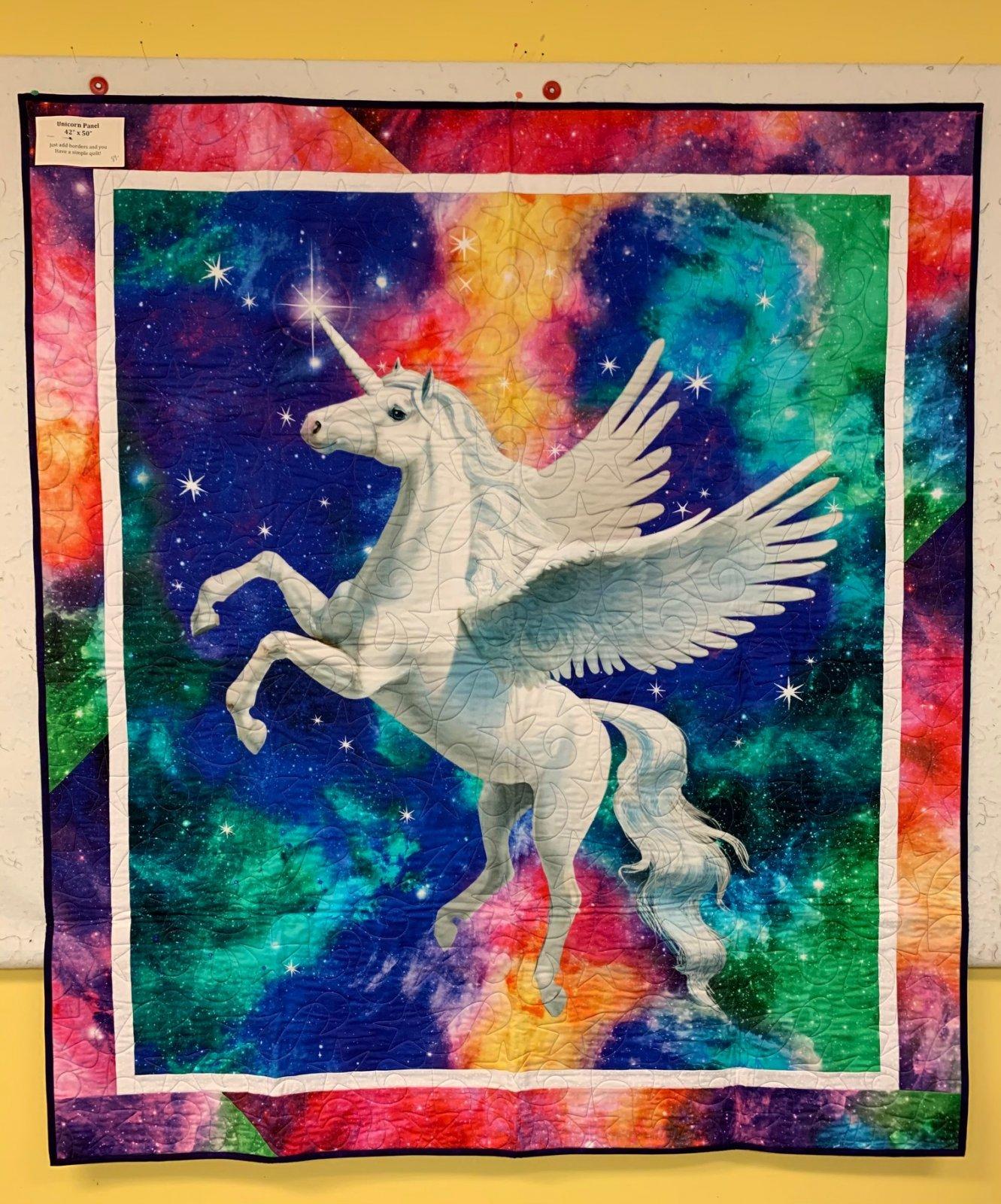Unicorn Panel Quilt