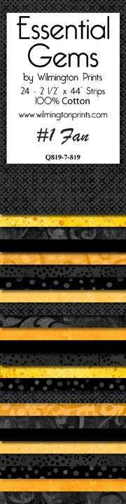 Essential Gems 7 819Black/Yellow