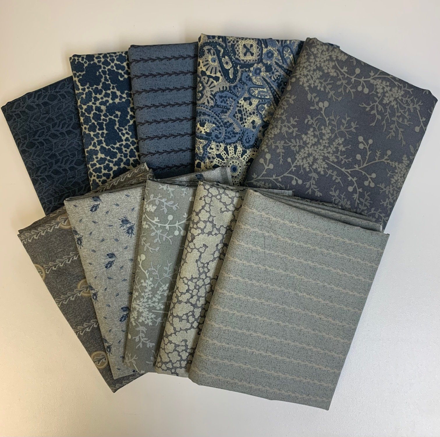 Reeds Legacy Fat Quarter Bundle 10