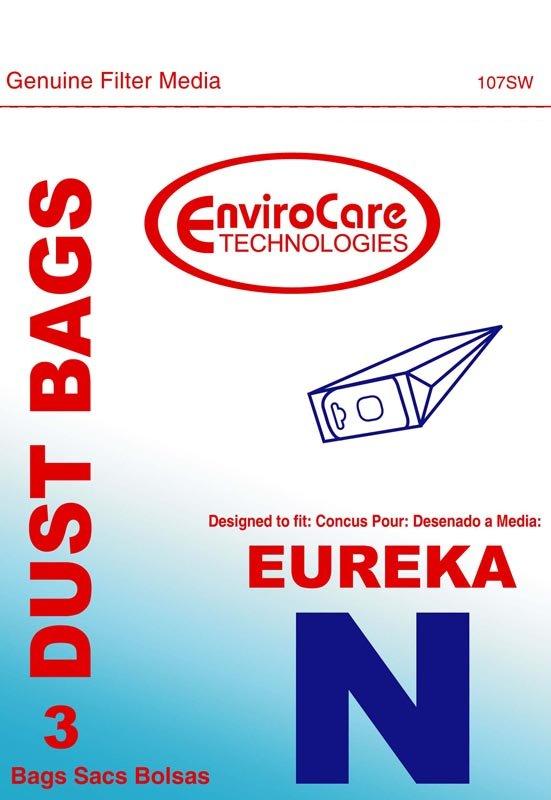 Eureka bags, N, 3pk. repl.