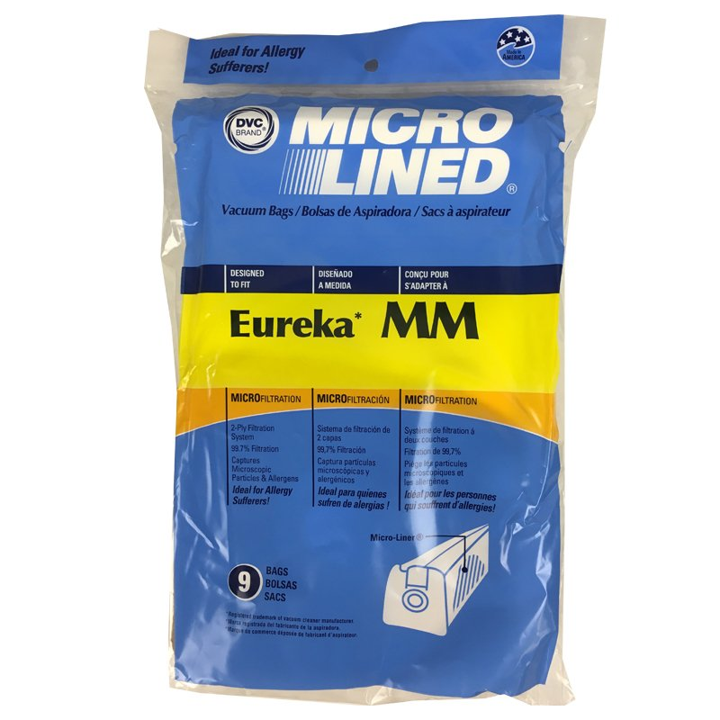 Eureka MM bags, 9pk, repl.