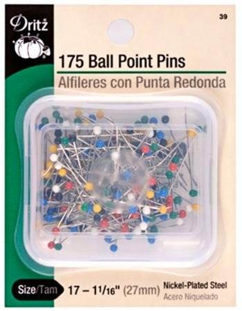 Ball Point Pins 1 1/16 175ct