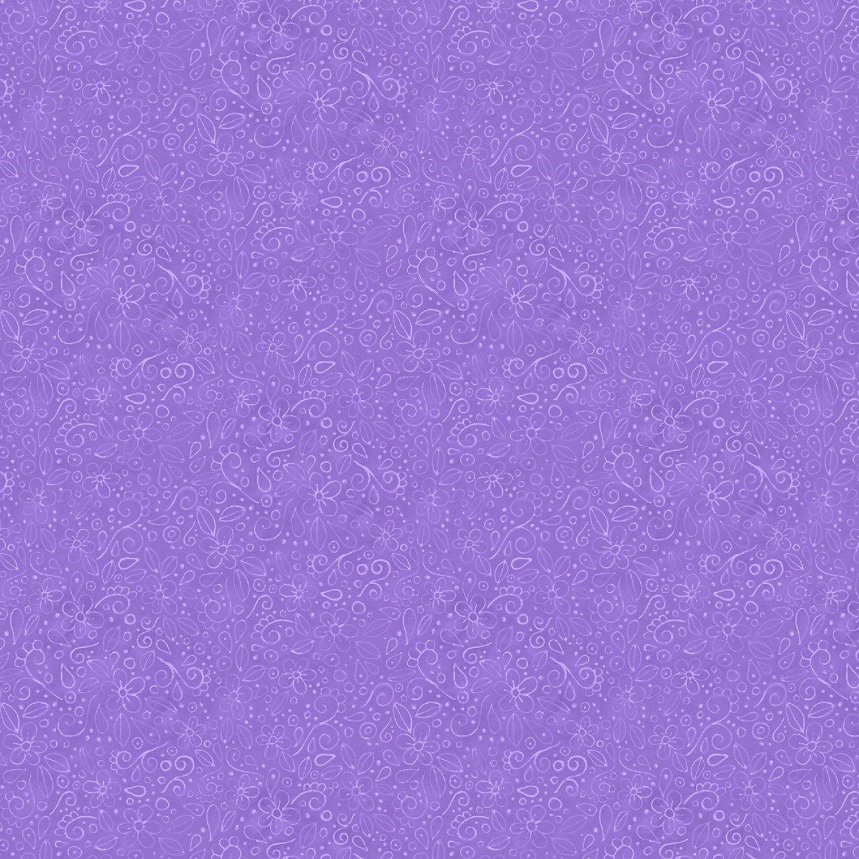Live out Loud - Purple Doodles