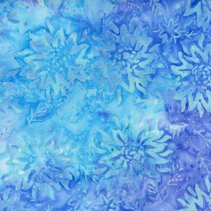 Bali Blooms Aqua Batik