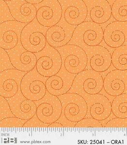 BH - Orange Scroll