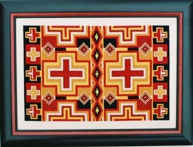 Germantown III Counted Cross Stitch Chart