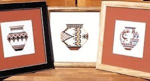 Pueblo Pottery - 2 Counted Cross Stitch Chart