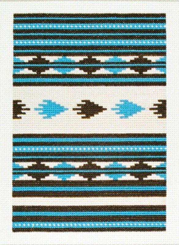 Rio Grande Counted Cross Stitch Chart