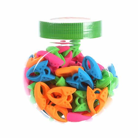 60 Pc Jar Tulip Bobbin Clamps