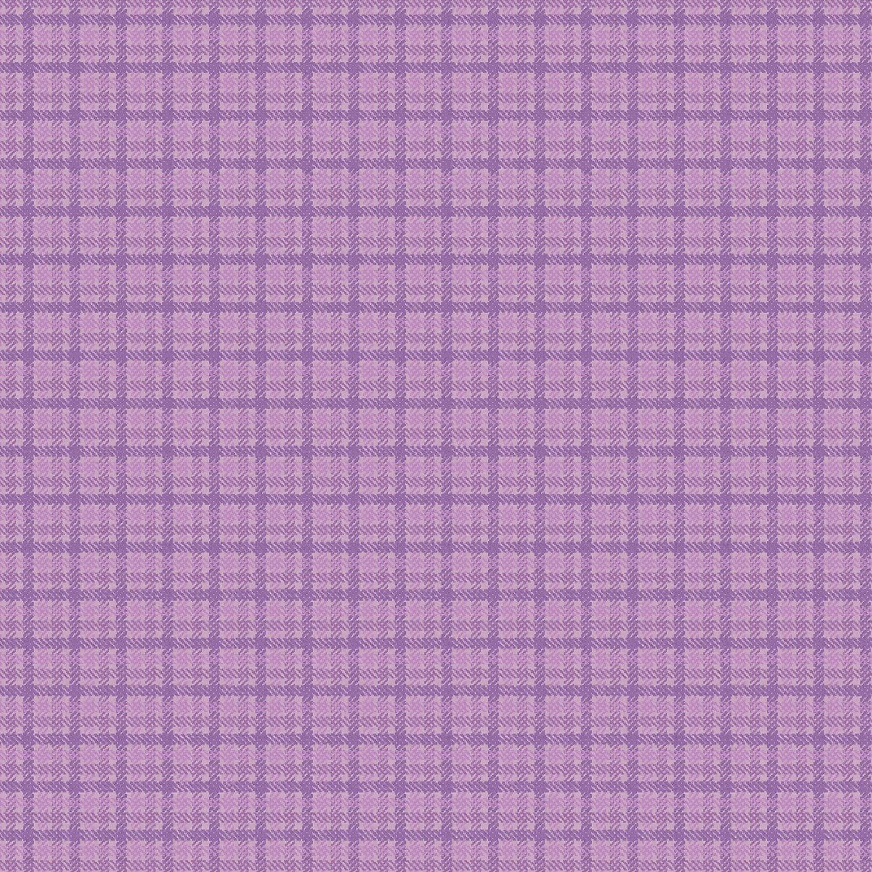 Plaid Flannel: Purple