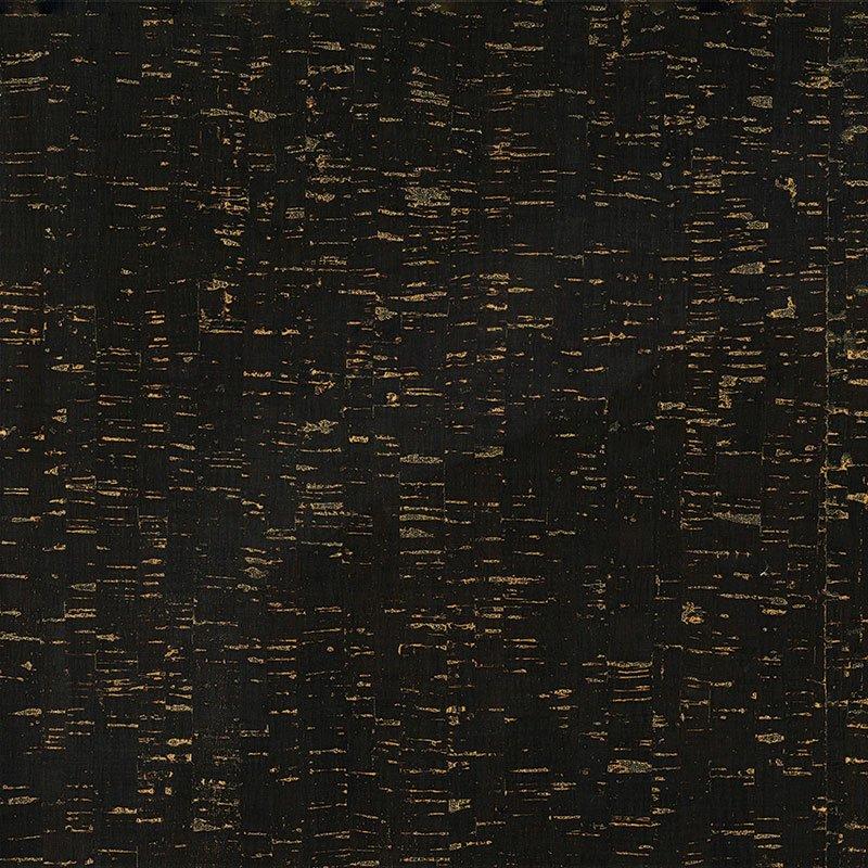 BELAGIO CORK FABRIC 18X15 BPC98-02 BLACK/GOLD