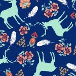 3 Wishes Pachua Deer 12933 Navy