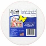Bosal Katahdin On-A-Roll 2.5X25Yds.  390K-25 Batting for Jelly Roll Rug