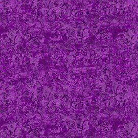 3 Wishes In the Meadow 3WI14494--PUR  Purple tonal heart leaves
