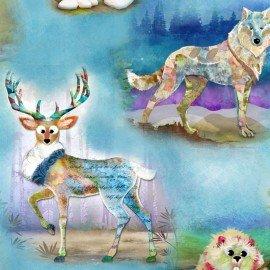3 Wishes Wild & Whimsy 3WI14562-MUL Digital Wildlife