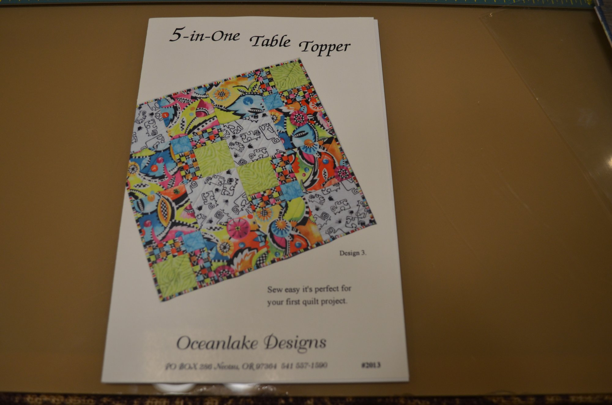 5-in-oneTable Topper Pattern