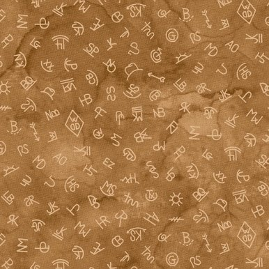 Blank Quilting  Corp Western Legend 9271-35 Tan  Brands