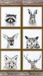 Robert Kaufman Animal Kingdom AHF-17590-14 Natural Panel 24X44