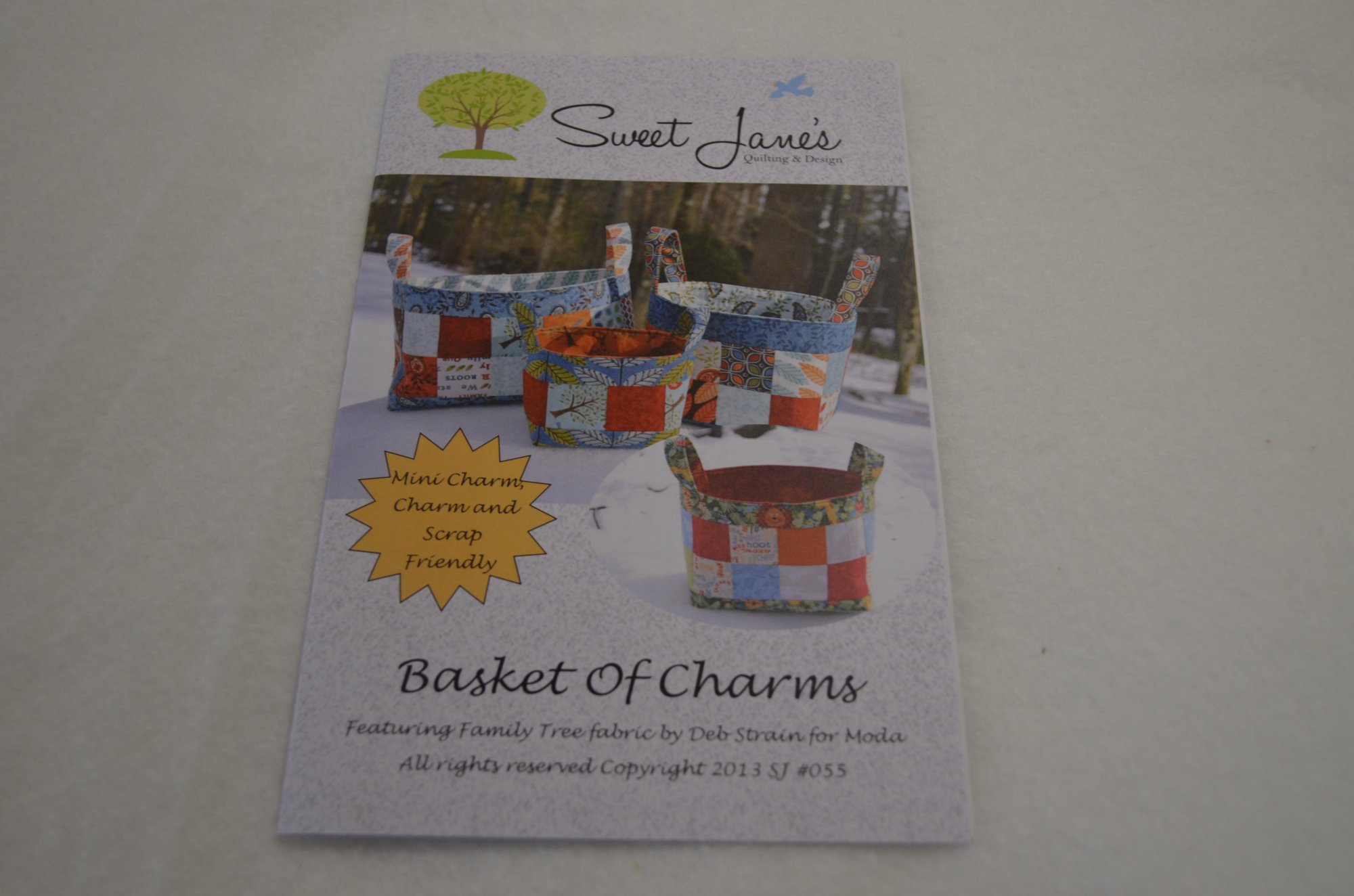 Basket Of Charms SJ 055