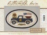 Buttermilk Basin Mini Vintage Truck Pattern BMB1352 Thru The Year July