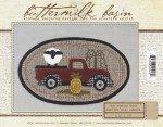 Buttermilk Basin Mini Vintage Truck Pattern BMB1353 Thru The Year August