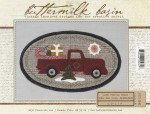 Buttermilk Basin Mini Vintage Truck Pattern BMB1357 Thru The Year December