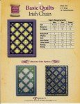 Basic Quilts - Irish Chain Pattern BQIC By: QP Quilt co.