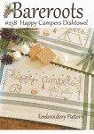 Happy Camper Dishtowel pattern By: Bareroots BR258