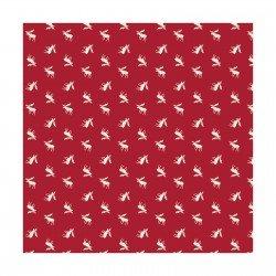 Camelot Hudson CAM21172103-1 Moose on Red