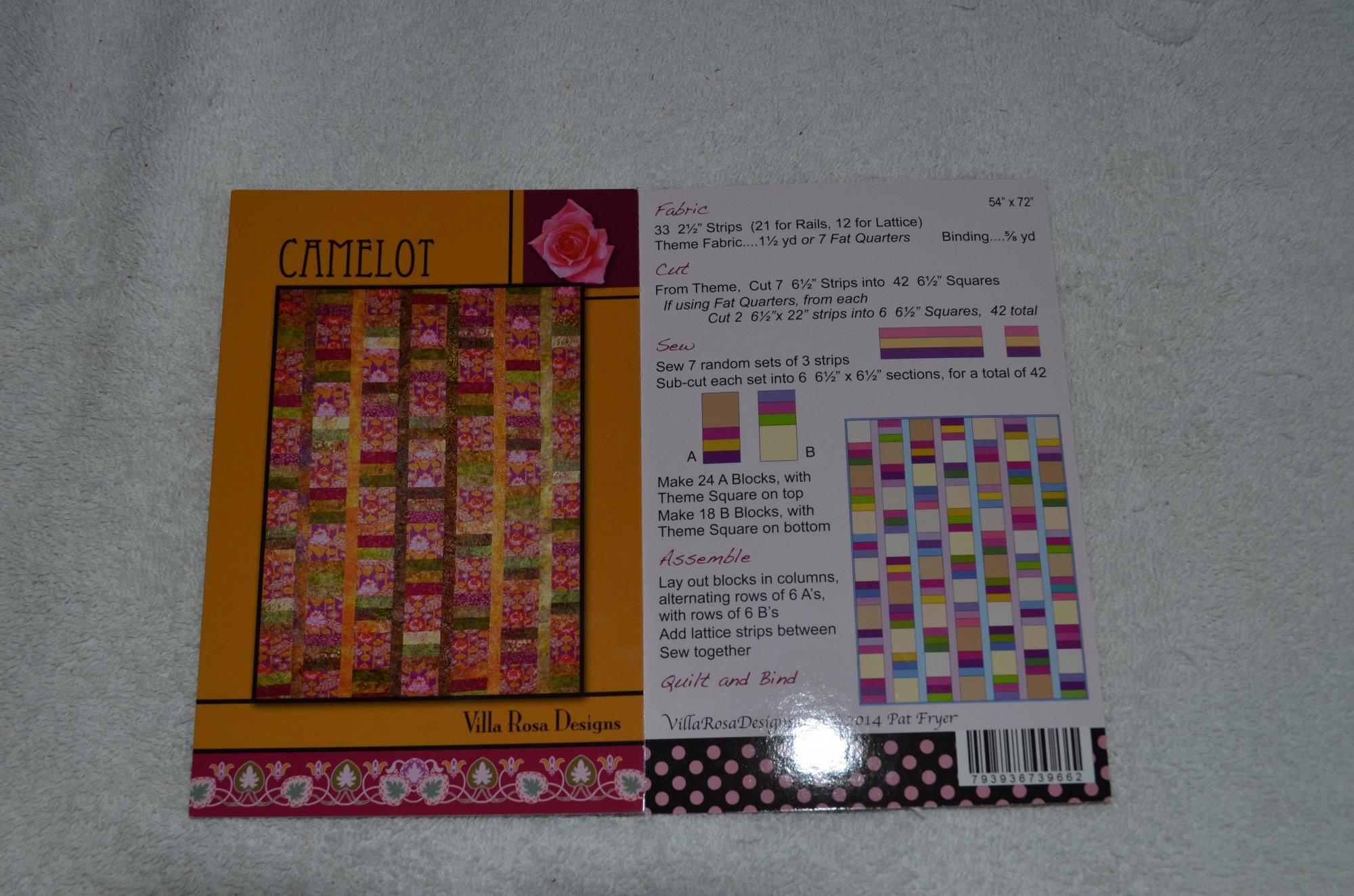 Camelot Pattern VRD739662C by Villa Rosa Designs