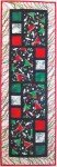 All Squared Up Table Runner PATTERN Cut Loose Press CLPCLA054