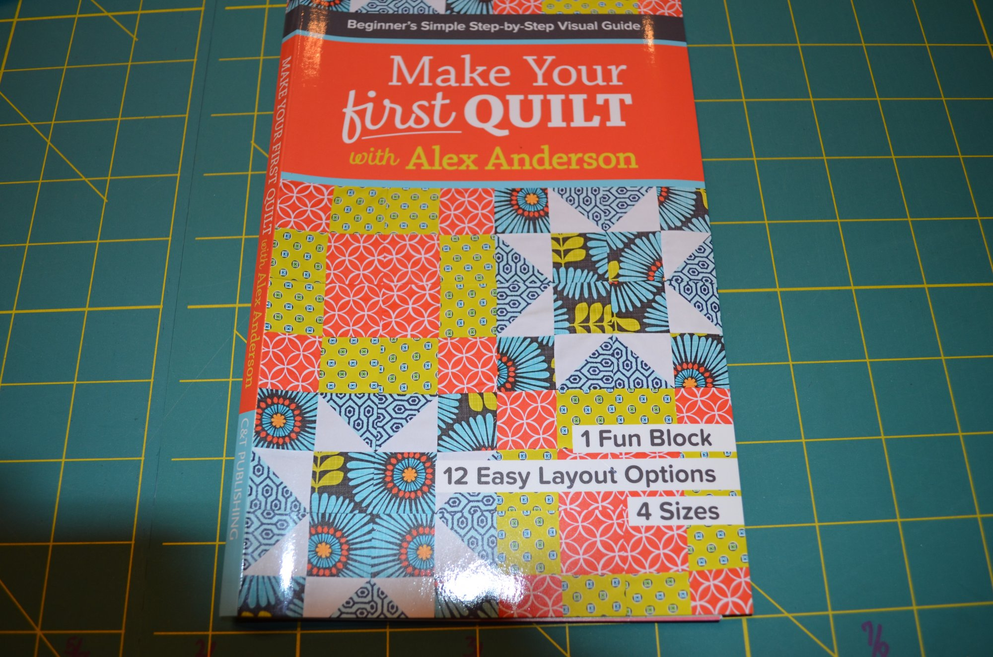 Make Your First Quilt by Alex Anderson Book CTP11187